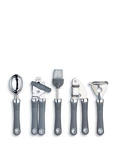 kitchen-craft-kitchen-craft-stainless-steel-soft-grip-gadgets-5pc-set