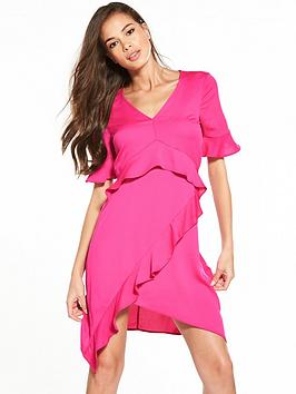 Miss Bethany Dress Tea Selfridge Frill Pay With Visa Online Low Shipping Cheap Online 0w7CDUb5