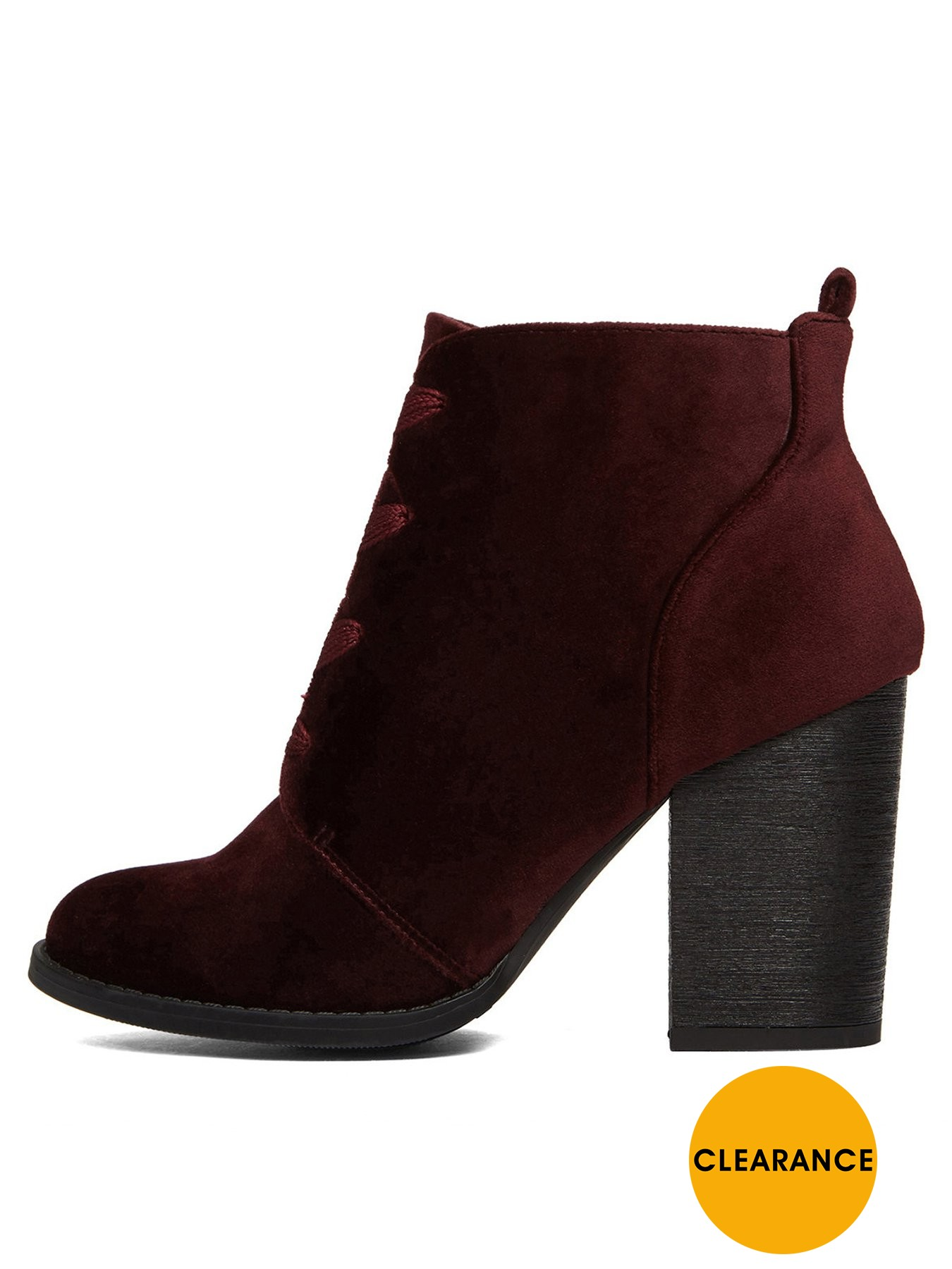 CALL IT SPRING Afaeni Block Heel Ankle Boot 1600181034 Women's Shoes CALL IT SPRING Boots