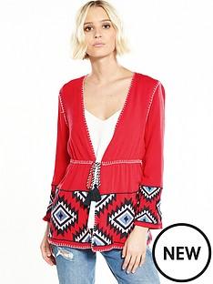 river-island-red-kimono