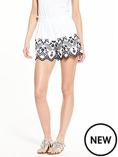 river-island-embroidered-cut-out-short