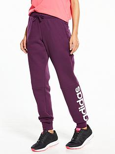 adidas-essentials-linear-fleece-pant