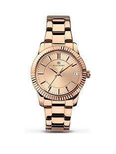 accurist-rose-gold-bracelet-strap-ladies-watch