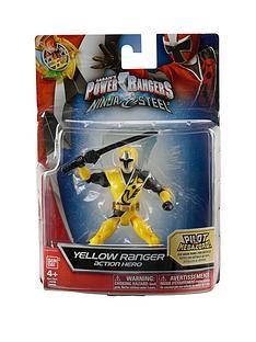Power Rangers Power Rangers Ninja Steel 12.5cm Yellow Ranger