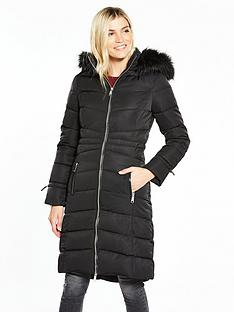 v-by-very-long-padded-coat-with-faux-fur-hood-black