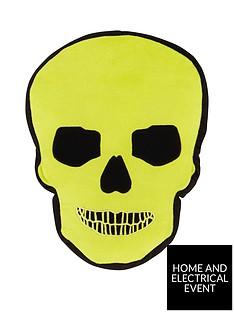 catherine-lansfield-skulls-cushion