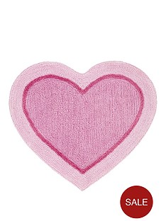 catherine-lansfield-heart-shaped-rug
