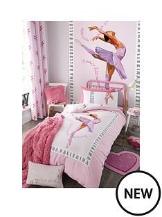 catherine-lansfield-ballerina-single-duvet-cover-set