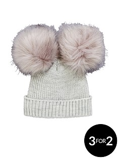 mini-v-by-very-baby-double-pom-pom-hat-3-12-months