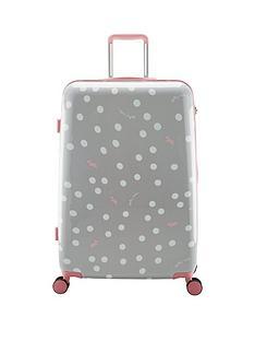 radley-vintage-dog-dot-grey-4-wheel-large-case