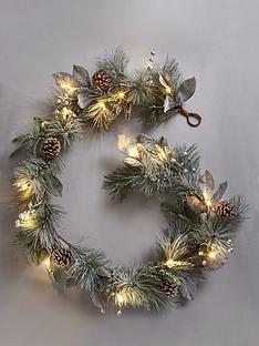 lit-cone-christmas-garland