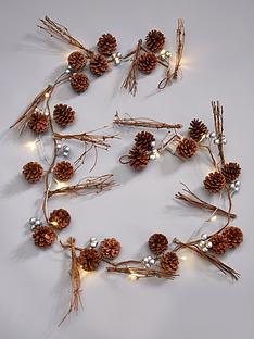 pine-cone-lit-christmas-garland