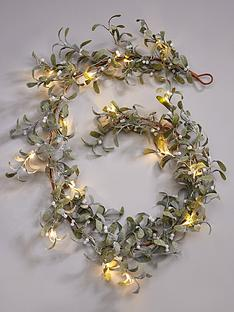lit-mistletoe-christmas-garland