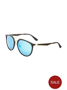 1600179587: Ray-Ban Large Mirror LensSunglasses