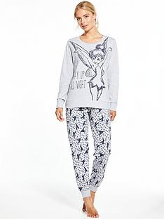 v-by-very-tinkerbell-up-all-night-loungewear-set-grey