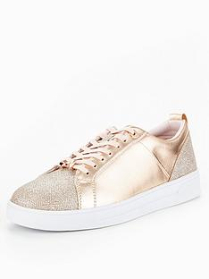 ted-baker-kulei-rose-gold-trainer