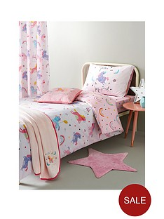 catherine-lansfield-magical-unicorns-cotton-rich-duvet-covernbsp