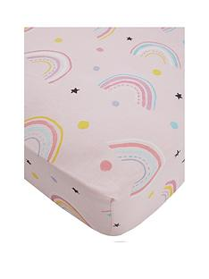 catherine-lansfield-magical-unicorns-cotton-rich-fitted-sheet