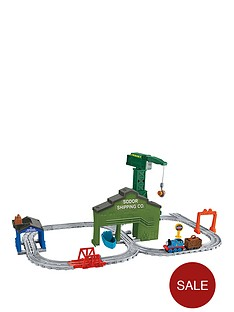 thomas-friends-adventures-cranky-at-the-docksnbsptrain-set