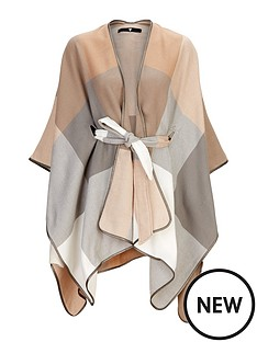 v-by-very-pastel-oversized-check-belted-cape
