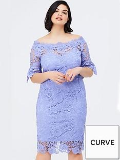 paper-dolls-curve-bluebell-lace-bardot-dress