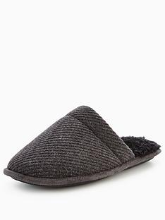 totes-isotoner-totes-textured-mule-slipper-with-memory-foam