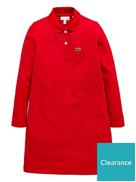 lacoste-girls-classic-polo-dress