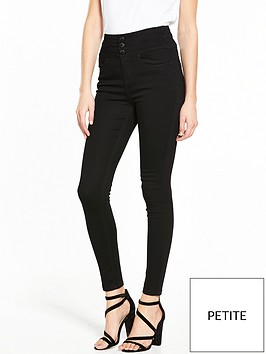 v-by-very-petite-macy-high-waisted-skinny-jean-black