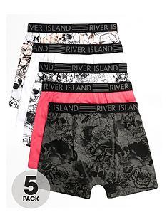 river-island-boys-pink-skull-print-boxers-multipack