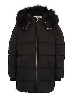 river-island-girls-black-faux-fur-trim-hooded-padded-jacket