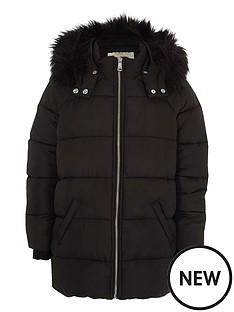 river-island-girls-black-fur-trim-hooded-padded-jacket