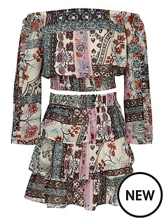 river-island-girls-print-bardot-top-and-rara-skirt-outfit