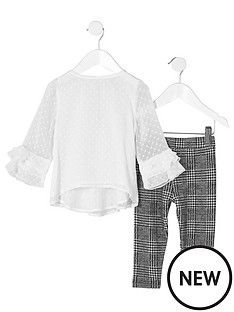 river-island-mini-girls-white-dobby-mesh-frill-top-outfit