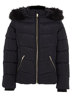river-island-girls-navy-padded-fur-trim-hood-padded-jacket