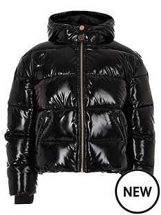 river-island-girls-black-high-shine-padded-jacket
