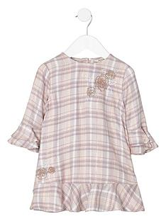river-island-mini-girls-pink-check-embroidered-smock-dress