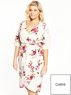 paper-dolls-curve-floral-print-wrap-dress