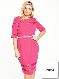 paper-dolls-curve-lace-insert-pencil-dress-pink