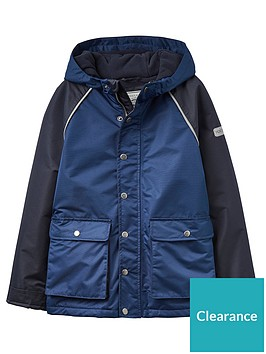 8c9786d9a Joules Boys Playground Fleece-Lined Waterproof Coat ...