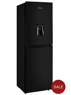 hisense-rb335n4wb1-55cm-wide-frost-free-fridge-freezer-black