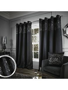 Black   Living room   Curtains   Curtains & blinds   Home ...