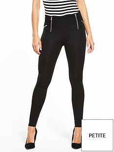 v-by-very-petite-petite-zip-detail-ponti-legging
