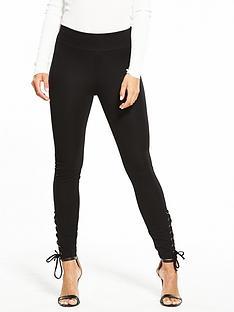 v-by-very-tie-side-ponti-legging-black