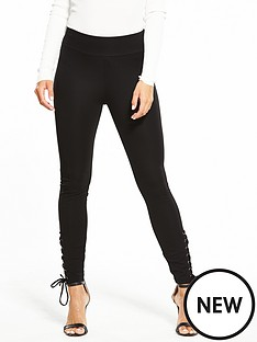 v-by-very-tie-side-ponti-legging-black