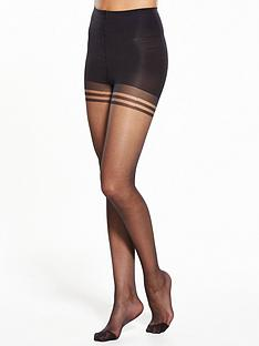 bb8447a449044 Pretty Polly 2 pack Nylons Secret Slimmer Tights
