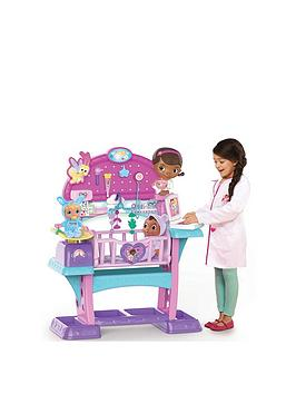 Doc Mcstuffins Doc Mcstuffins Baby Checkup All In One Nursery