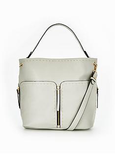 miss-selfridge-grey-studded-hobo-bag