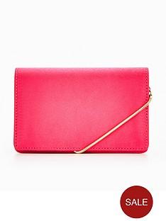 miss-selfridge-crossbody-hot-pink-bag