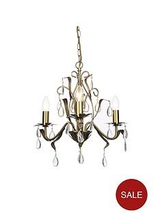 antique-brass-3-light-leaf-chandelier