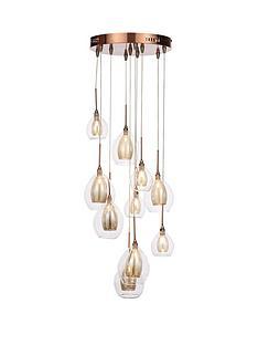 10-light-copper-cluster-ceiling-light